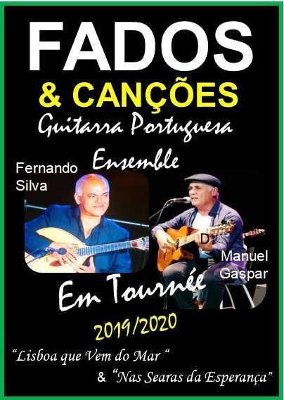 Espectáculo de manuel Gaspar e Fernando Silva ao Vivo